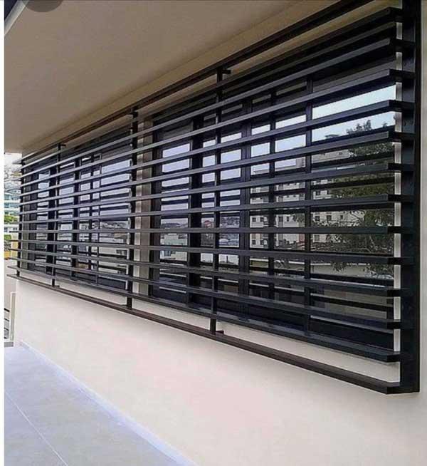 Grille métallique pour fenêtre au meilleur prix Tunisie